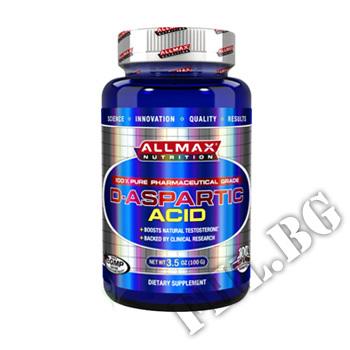Съдържание » Цена » Прием » Allmax d-aspartic acid 100g