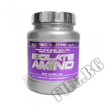 Съдържание » Цена » Прием » Isolate Amino 500caps