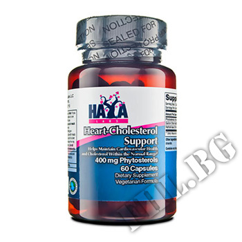 Съдържание » Цена » Прием » Heart - Cholesterol Support Phytosterols 400mg 60 Caps