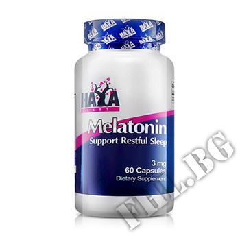 Съдържание » Цена » Прием » Melatonin 3mg 60 Caps