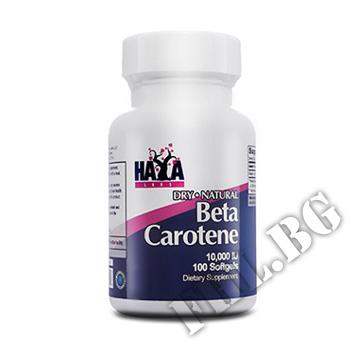 Съдържание » Цена » Прием » Natural Beta Carotene 10,000 IU 100 Caps
