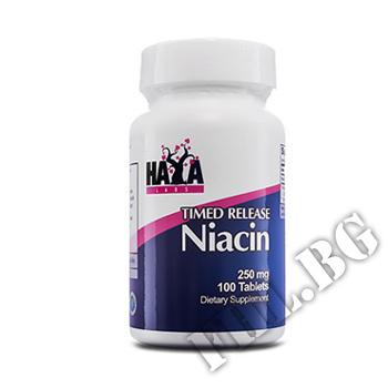 Действие на Niacin Time Release 250mg 100 Tabs мнения.Най-ниска цена от Fhl.bg-хранителни добавки София
