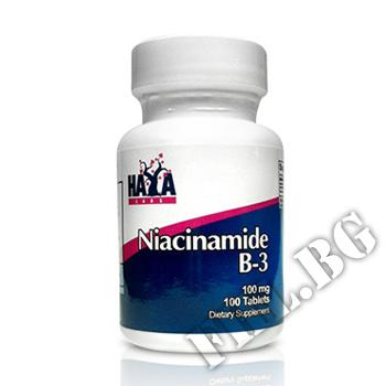 Съдържание » Цена » Прием » Niacinamide 100 mg 100 Tabs