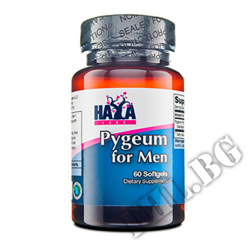 Съдържание » Цена » Прием » Pygeum for Men 100mg 60 Softgels