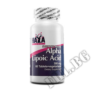 Съдържание » Цена » Прием » Sustained Release Alpha Lipoic Acid 300mg 60 Vtabs