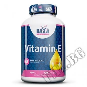 Действие на  Vitamin E 400 IU 100 Softgels мнения.Най-ниска цена от Fhl.bg-хранителни добавки София