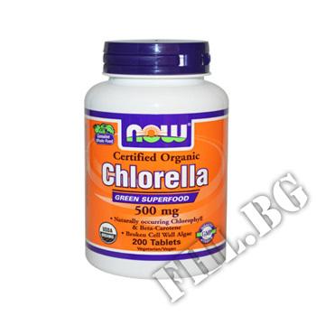 Действие на Chlorella Organic 500 мг мнения.Най-ниска цена от Fhl.bg-хранителни добавки София