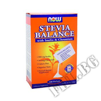 Действие на Stevia Balance - 100 пакета мнения.Най-ниска цена от Fhl.bg-хранителни добавки София