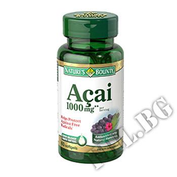 Действие на Acai 1000 mg мнения.Най-ниска цена от Fhl.bg-хранителни добавки София