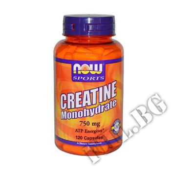Съдържание » Цена » Прием » Creatine Monohydrate 750 мг - 120 капсули