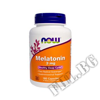 Съдържание » Цена » Прием » Melatonin 3 мг - 180 капсули