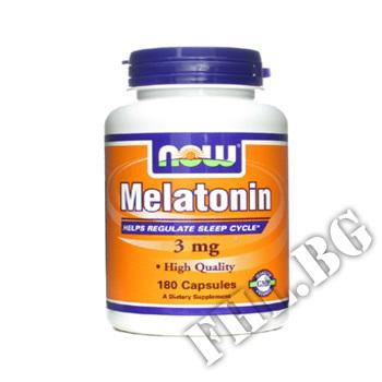 Действие на Melatonin 3 мг - 180 капсули мнения.Най-ниска цена от Fhl.bg-хранителни добавки София