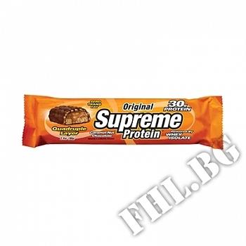 Действие на Supreme Bar - Шоколад и Карамел с Ядки - 96 г мнения.Най-ниска цена от Fhl.bg-хранителни добавки София