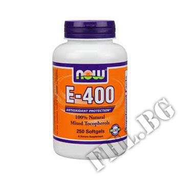 Действие на Vitamin E 400 IU MT - 250 Softgels мнения.Най-ниска цена от Fhl.bg-хранителни добавки София