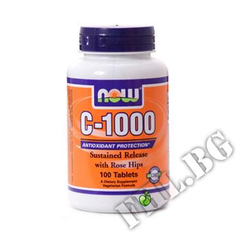 Съдържание » Цена » Прием »  Vitamin C 1000 SR - 100 tab