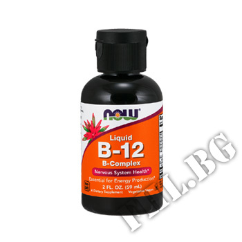 Съдържание » Цена » Прием » B-12 Complex Liquid / 60 ml.