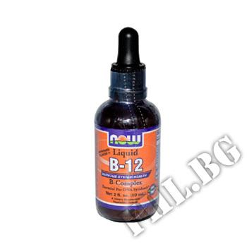 Действие на B-12 Complex Liquid / 60 ml. мнения.Най-ниска цена от Fhl.bg-хранителни добавки София