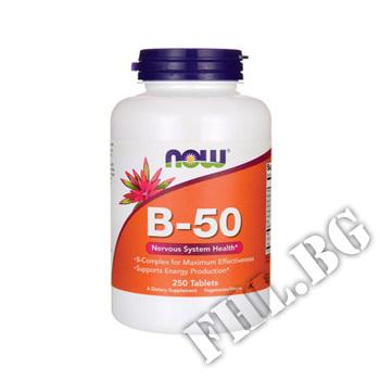 Съдържание » Цена » Прием »  Vitamin B-50 250 tabl
