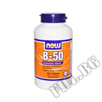 Действие на Vitamin B-50 250 tabl мнения.Най-ниска цена от Fhl.bg-хранителни добавки София