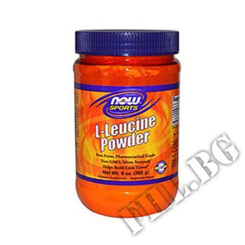 Съдържание » Цена » Прием » L-Leucine Powder - 255.6 g