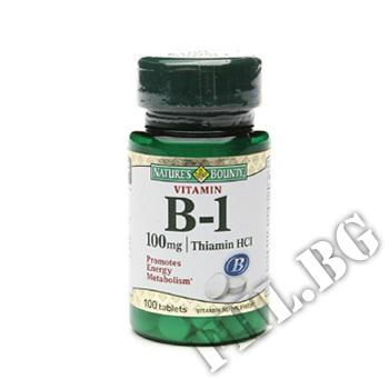 Действие на Vitamin B1 100 mg мнения.Най-ниска цена от Fhl.bg-хранителни добавки София