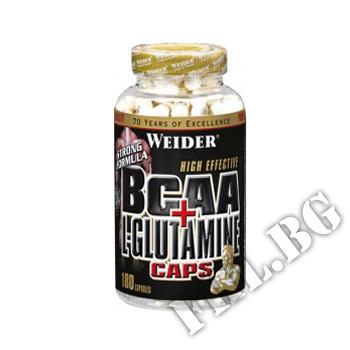 Съдържание » Цена » Прием » BCAA + L-Glutamine caps.
