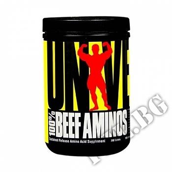 Съдържание » Цена » Прием » 100 % Beef aminos 400 tablets