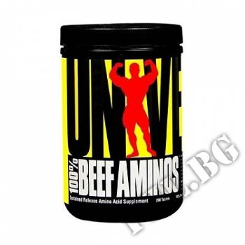 Съдържание » Цена » Прием » 100 % Beef aminos 200 tablets
