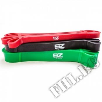 Съдържание » Цена » Прием » Фитнес лента зелена размери 208cm-0,45cm-2,86cm…