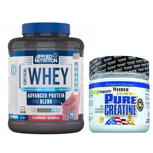 Съдържание » Цена » Прием » Протеин и креатин комбинация 1