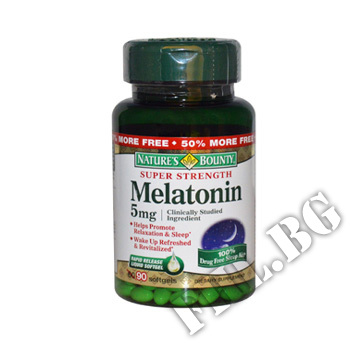 Съдържание » Цена » Прием »  Melatonin 5 mg NB