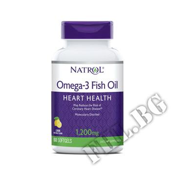 Действие на Omega 3 fish oil 1200 mg мнения.Най-ниска цена от Fhl.bg-хранителни добавки София