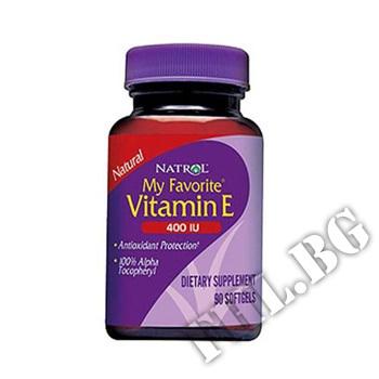 Съдържание » Цена » Прием »  Vitamin E 400IU 30 softgels