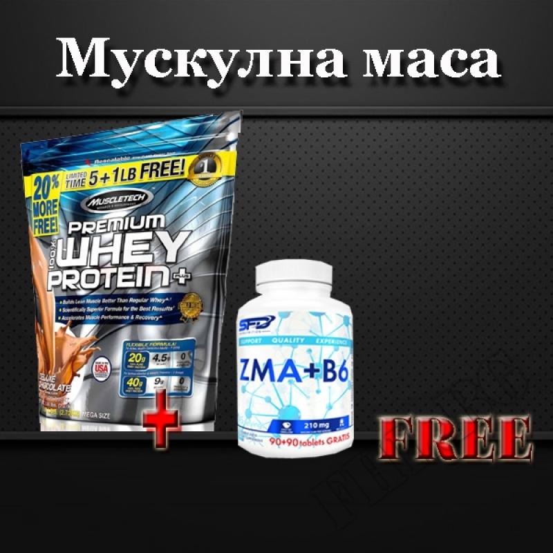 100 % Premium Whey Protein Plus 20% free