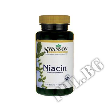 Съдържание » Цена » Прием » Niacin 100 mg 250 Tabs
