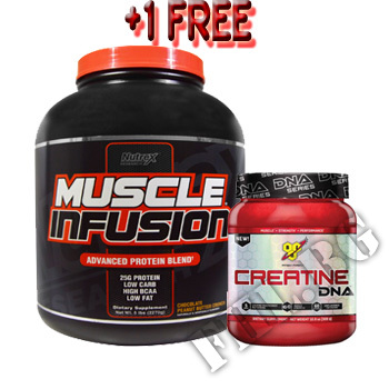 Съдържание » Цена » Прием » Muscle Infusion with creatine free