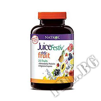 Действие на JuiceFestiv Daily Fruit  мнения.Най-ниска цена от Fhl.bg-хранителни добавки София