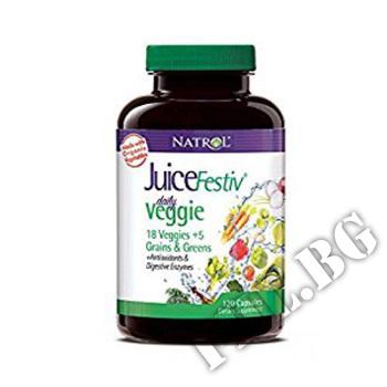 Действие на JuiceFestiv Daily Veggie  мнения.Най-ниска цена от Fhl.bg-хранителни добавки София