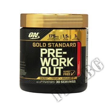 Съдържание » Цена » Прием »  Gold Standard Pre Workout