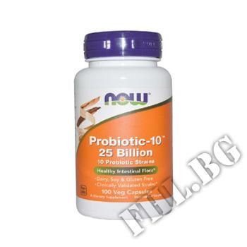 Действие на Probiotic-10 - 25 Billion - 100 Капсули мнения.Най-ниска цена от Fhl.bg-хранителни добавки София
