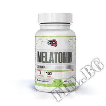 Съдържание » Цена » Прием » Melatonin 3mg 100caps