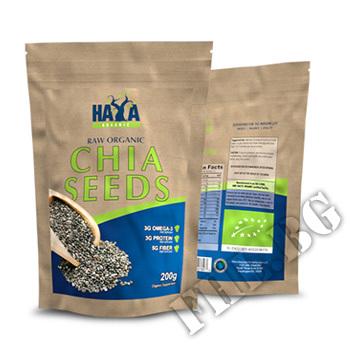 Съдържание » Цена » Прием » Organic Chia Seeds 0,200kg