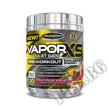 Съдържание » Цена » Прием »  Vapor X5 Next Gen Pre-Workout