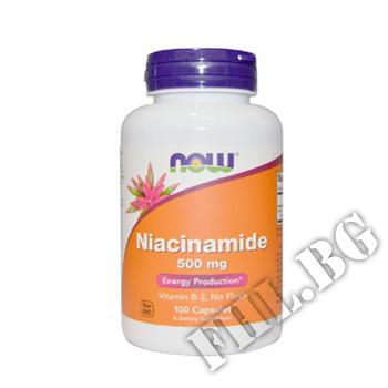 Съдържание » Цена » Прием » Niacinamide 500 mg
