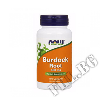 Действие на Burdock Root 430 мг мнения.Най-ниска цена от Fhl.bg-хранителни добавки София