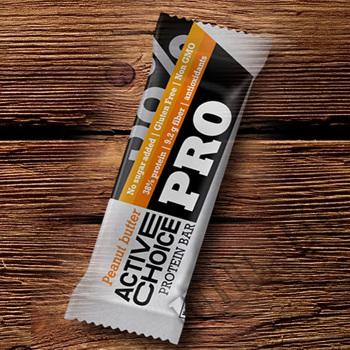 Съдържание » Цена » Прием » Active Choice Pro Peanut Butter - Протеинов бар…