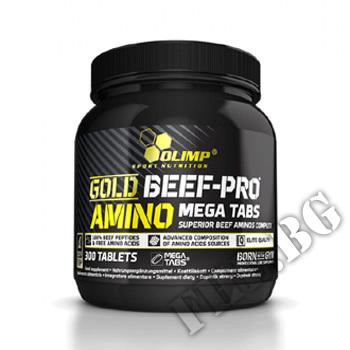 Съдържание » Цена » Прием » Gold Beef-Pro Amino Mega Tabs
