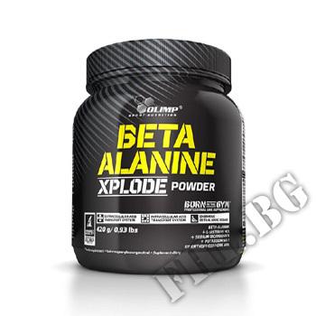 Действие на Beta-Alanine Xplode 420 gr мнения.Най-ниска цена от Fhl.bg-хранителни добавки София