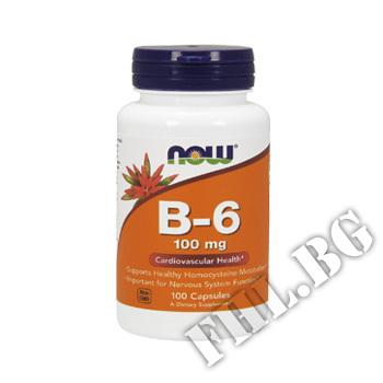 Съдържание » Цена » Прием » Vitamin B6 Pyridoxine 100 mg 100 caps