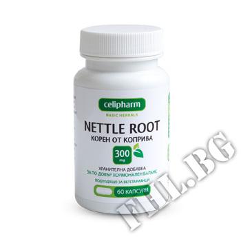 Съдържание » Цена » Прием » Nettle 300 mg 60 caps